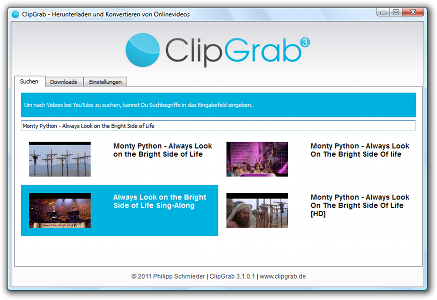 UltraTechZ - Techs! Unlimited!!! : ClipGrab | Video Download Manager